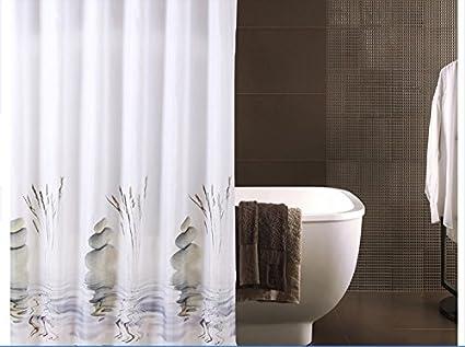 Tende Da Doccia In Lino : Portasigarette bianco tenda doccia in tessuto di poliestere con