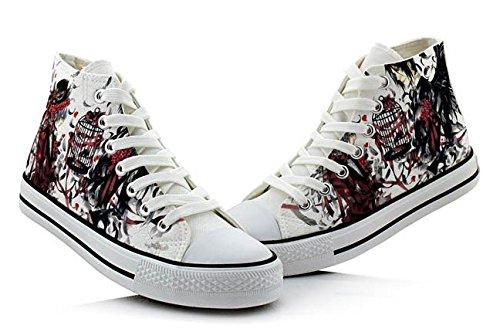 Maggiordomo Nero Kuroshitsuji Ciel E Sebastian Scarpe Cosplay Scarpe Sneakers Colorate 4 Scelte Foto 1
