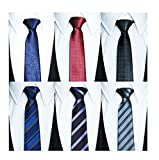 Tiger Mama 6pcs Business Fashion Necktie Tie Mixed Lot (SET-10)