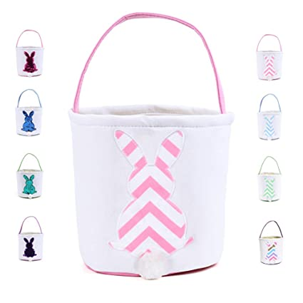 Luggage & Bags Easter Bunny Ear Bag Canvas Shopping Tote Shoulder Bags Holiday Celebration Party Decoration Shoulder Bags