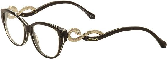 Roberto Cavalli Eyeglasses Prijipati 938 050 Brown//Gold Optical Frame 54mm
