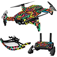 MightySkins Skin for DJI Mavic Air Drone - Hyper | Max Combo Protective, Durable, and Unique Vinyl Decal wrap cover | Easy To Apply, Remove, and Change Styles | Made in the USA