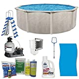 Cornelius Pools Phoenix 24' x 52' Frame Above Ground Pool Kit with Pump & Ladder