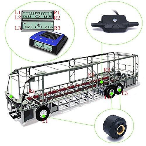 Carchet Tire Pressure Monitoring System For Rv Trailer