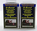 Q Bond Repair Kit Small Quick Bonding Adhesive 2 Pack
