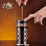 XUEXIN Coffee method method of pressure pot stainless steel pressure pots stainless steel tea maker home coffee pot 600ml