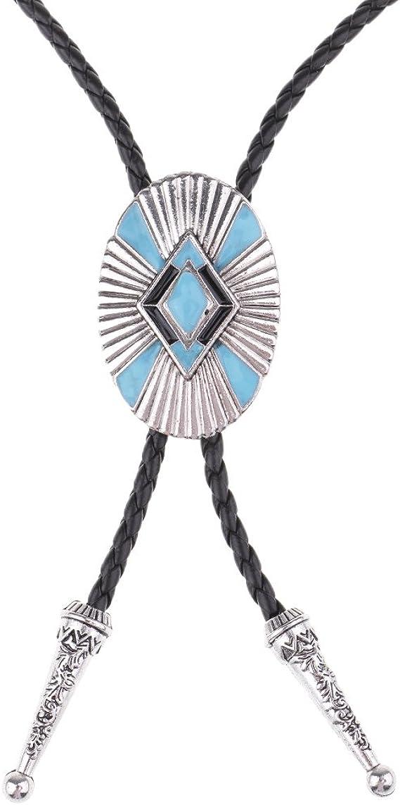 P Prettyia Bowtie de Chemise Bolo Tie de Cowboy de Rod/éo Occidental Cravate Noeud Accessoires pour Hommes Costume de Mariage