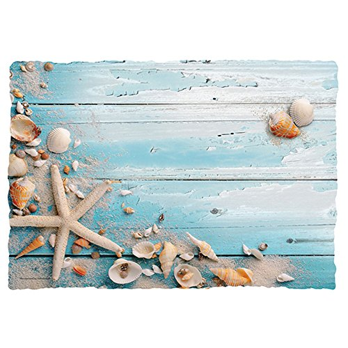 Beach Seashells Paper Placemats  975x14in 50