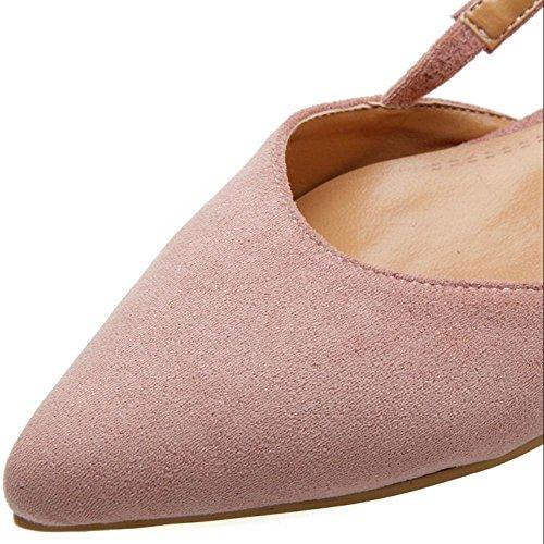 Pink Sandali su 99 Donna Scivolare Comfort RAZAMAZA Basse xYfTF7U