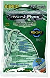 Sword Floss Disposable Floss/Pick, Mint, 50-Count, (Pack of 12) Review