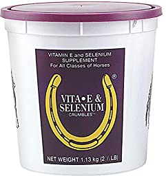 VITA E + SELENIUM CRUMBLES SUPPLEMENT FOR HORSES - 2.5 POUND