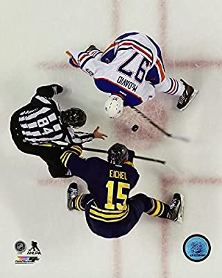 "Jack Eichel Buffalo Sabres & Connor McDavid Edmonton Oilers NHL Action Photo (Size: 8"" x 10"")"