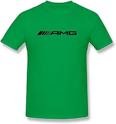 Camiseta Mercedes-Benz AMG Maybach Emblem Crew para Hombre: Amazon.es: Ropa y accesorios