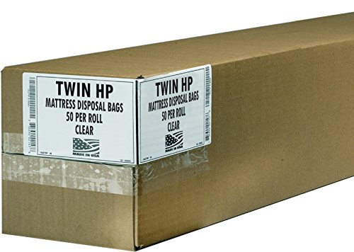 Aluf Plastics HP MAT Twin High Performance Mattress Twin Bag, 90
