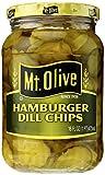 Mt. Olive Hamburger Dill Chips Pickles, 16 oz