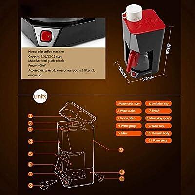 Thumby Máquina de café, Espresso Personal Cafetera, hogar ...