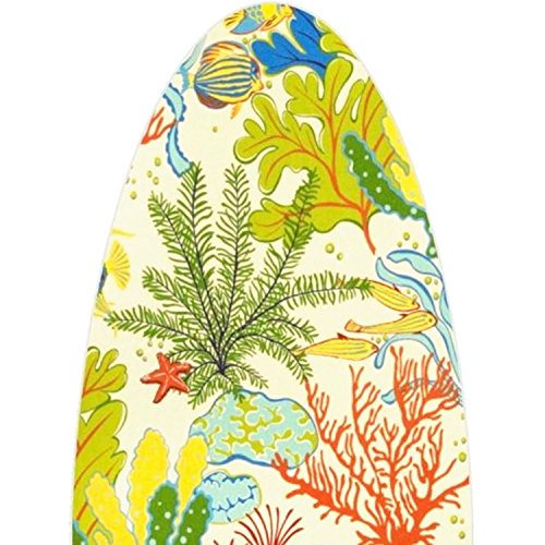 Premium Cover for HouseHoldEssentials Wide Top (49x18) Models - Under The Sea Print w/ 6mm Pad