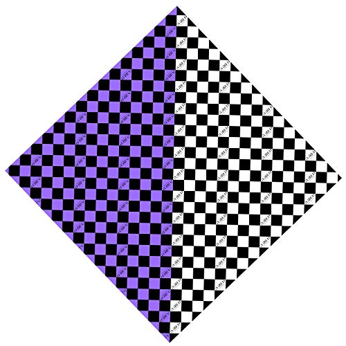 IVIBED Bandana Purple Checker ()
