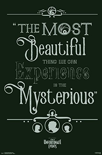 Trends International Wall Poster Quote Series of Unfortunate Events, 22.375
