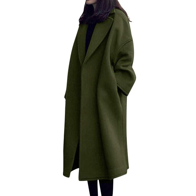f2d962b386a9 NEEDRA Trench Coat Ladies Teenage Girls Warm Winter Coat Outwear Women Button  Jacket Boucle Coat  Amazon.co.uk  Clothing