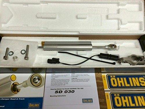 Ohlins Steering Damper SD030 Stock Mount for GSXR's - Stock Steering Damper
