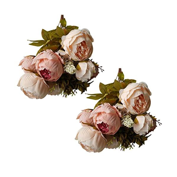 Artificial-Flower-2-Bouquet-Vintage-Artificial-Peony-Silk-Flowers-Bridal-Bouquet-Wedding-Party-Decor-Cameo-Brown