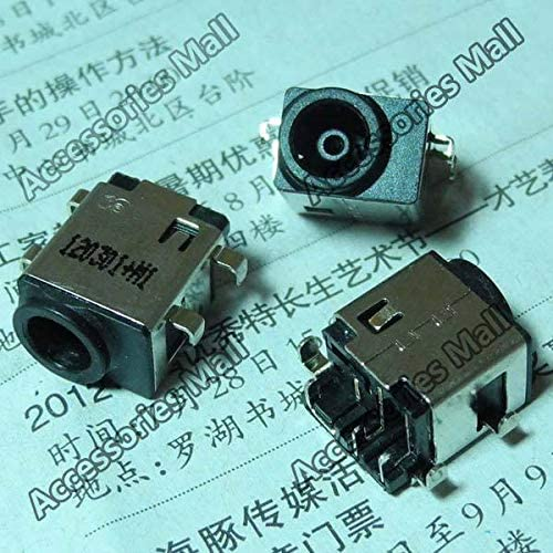 Computer Cables 5-200 pcs Original New DC Power Jack Connector for Samsung NP 305E5A 350U2B 350V5C 305V4A 305V5A DC Jack Socket Cable Length: 200 PCS