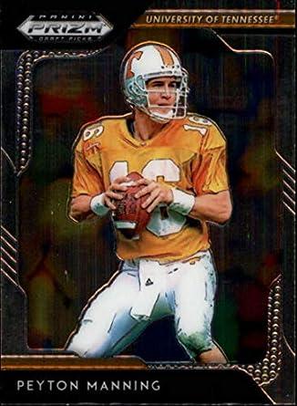 5d109fb0205 2019 Panini Prizm Draft Picks  73 Peyton Manning Tennessee Volunteers  Football Card