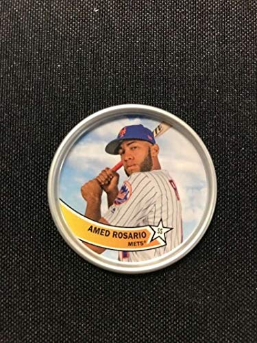2018 Topps Archives Baseball 1980s Coins #C-7 Amed Rosario New York Mets
