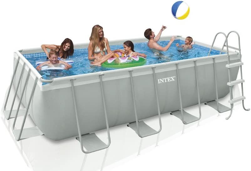 Intex 28350 - Piscina (Piscina con Anillo Hinchable, Rectangular ...