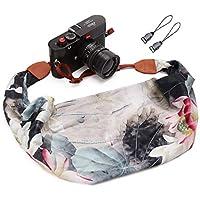 Camera Strap Scarf Vintage Floral Fabric DSLR Universal...