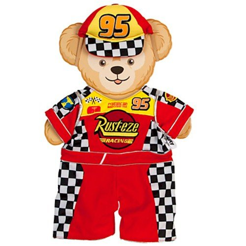 Duffy the Disney Bear - Cars Lightning McQueen Costume (Holiday Car Costume)