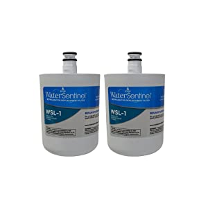 WaterSentinel WSL-1 Refrigerator Replacement Filter: Fits LT-500P LG Filters(2-Pack)