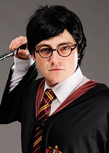 Harry Potter Style Negro Asistente de Boy peluca: Amazon.es: Juguetes y juegos