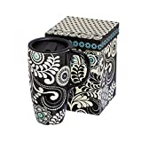Best Gifted Living coffee mug - Dark and Stormy Ceramic Travel Coffee Cup Review