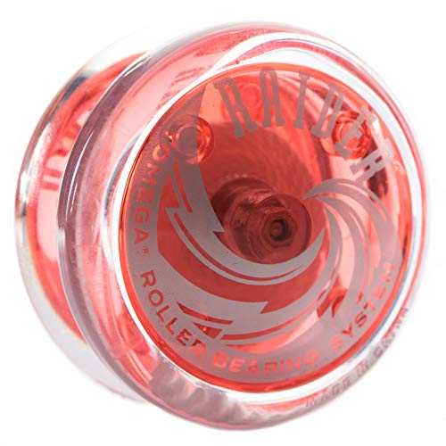 Yomega Raider - High Performance Pro Level Yo-Yo - Red (Yomega Raider Yo Yo)