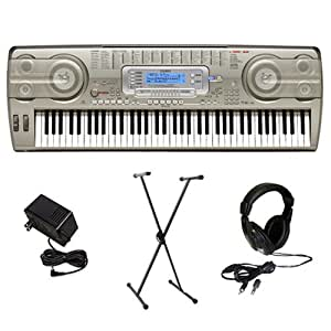 Casio WK-3800AD 76-Key Electronic Keyboard with Premium Accessories Package