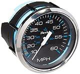 Faria 33704 Chesapeake Black 60 MPH Speedometer