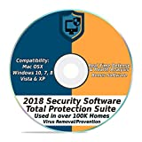 #7: Security Software 2018 Internet Antivirus Web Total Protection Suite for Windows PC & Mac Computer Desktop Laptop #1 Best