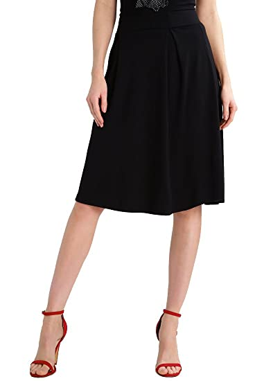 d541f262500e Anna Field Gonna Midi da donna di colore nero