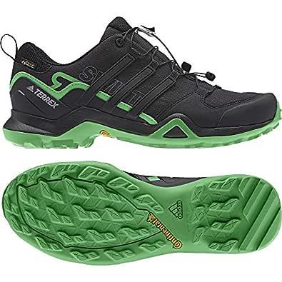 adidas Men's Terrex Swift R2 Gtx Cross Trainers, Black (Cblack/Enegrn Cblack/Cblack/Enegrn), 6.5 UK (40 EU)