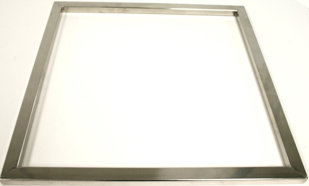 Paderno World Cuisine .5 Inch Stainless Steel Square Ganache Frame