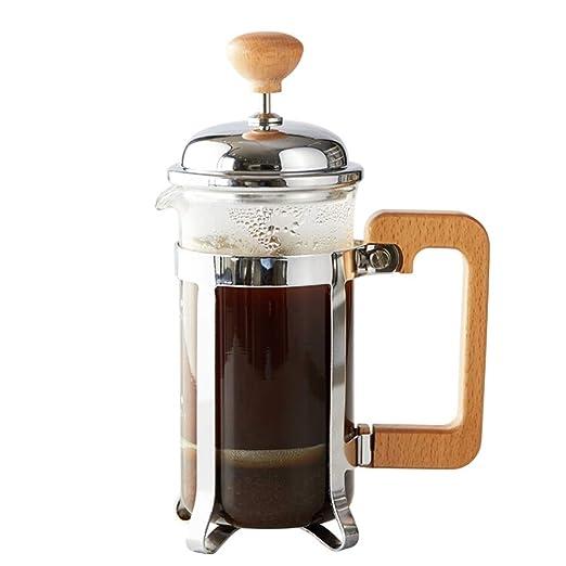 Prensa de café Presión francés de café del pote Olla de Acero ...