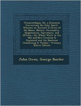 JOHN OWEN PNEUMATOLOGIA PDF DOWNLOAD