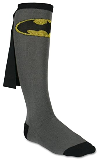 c5cf9f4b47a Amazon.com  Batman Cape Knee High Socks 1 x 1in  Clothing