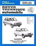 Image de Revue Technique Automobile, CIP 3865 : Citroën Visa et Visa II - Spécial et Club