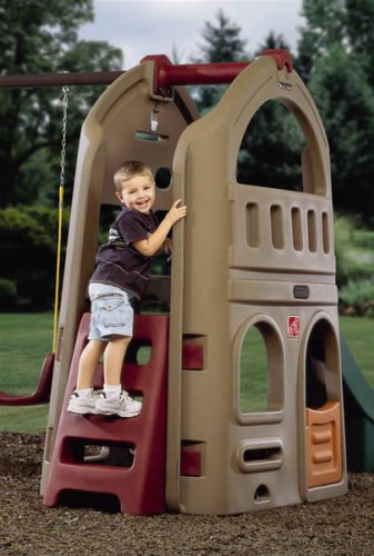step2 naturally playful playhouse climber swing extension in the uae see prices reviews and. Black Bedroom Furniture Sets. Home Design Ideas