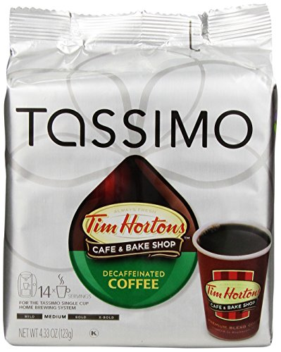 Tassimo-Tim-Hortons-Decaffeinated-Coffee-T-Discs-Bag-433-Ounce-Pack-of-5