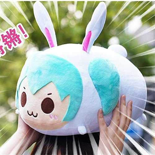 Shalleen Plush Doll Toy Pillow Cushion for Vocaloid: Hatsune (Cola Bear Costume)