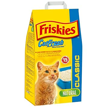 litiere chat friskies
